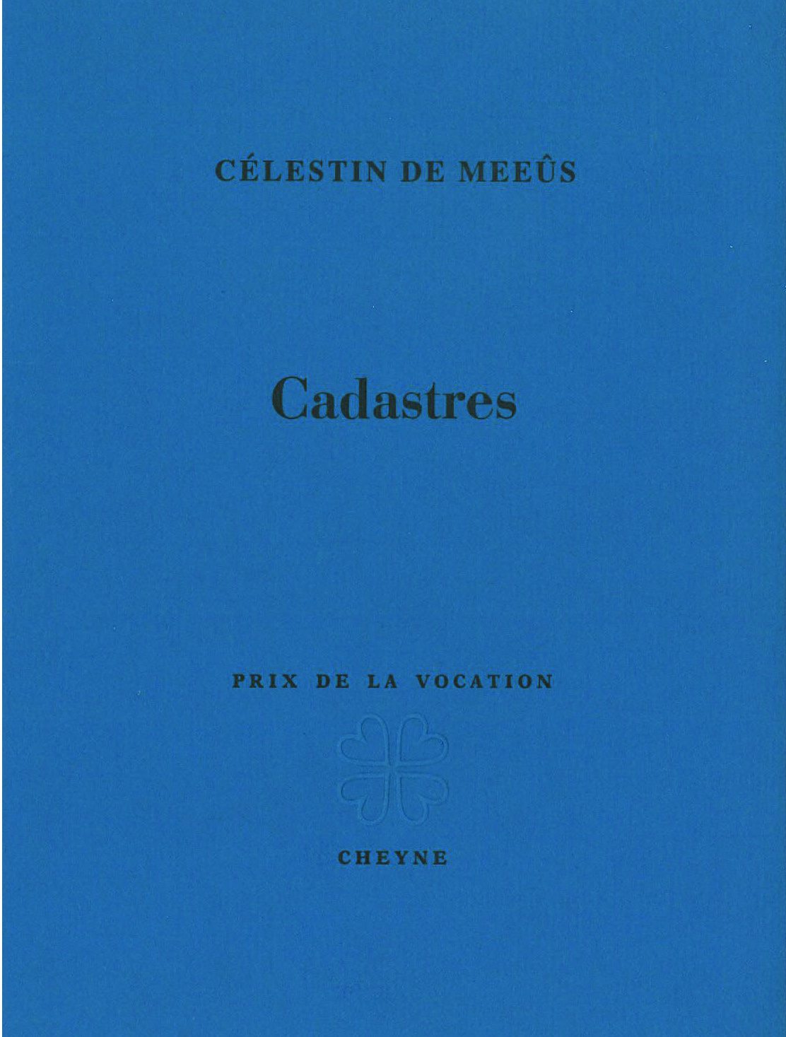 Couverture Cadastres