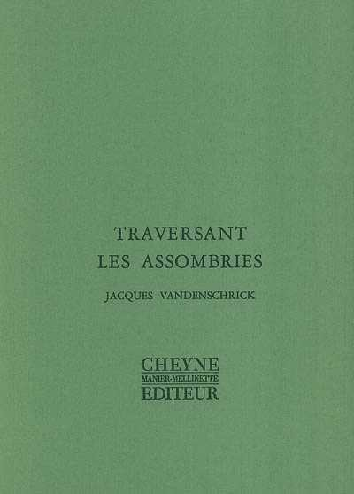 Couverture Traversant les assombries